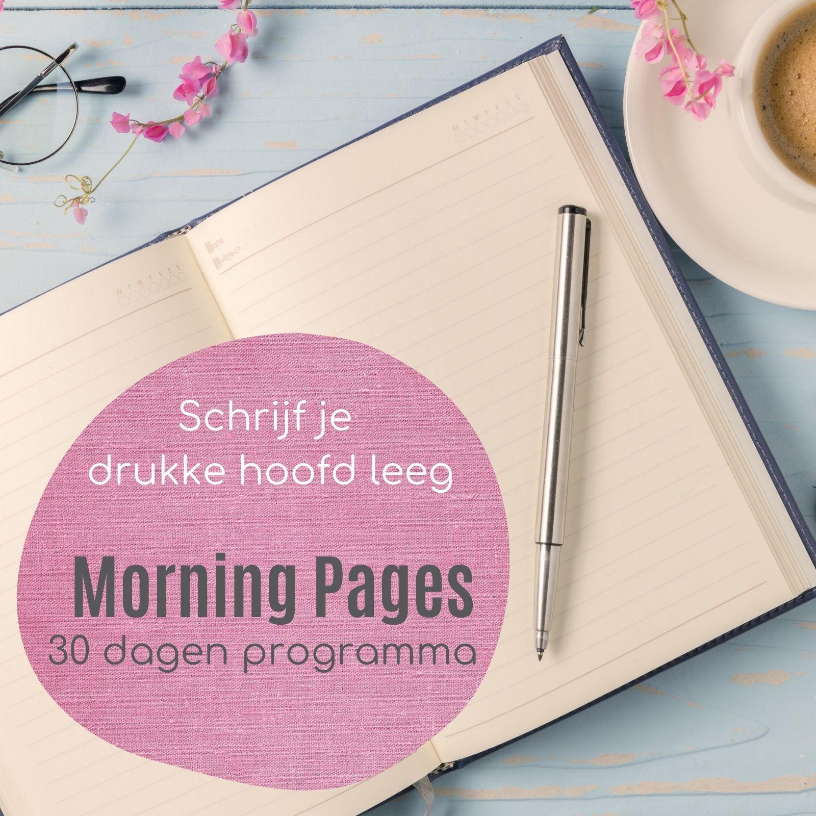 Morning Pages 30 dagen programma