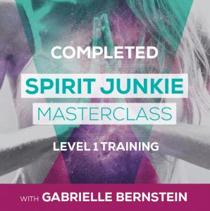 Spirit Junkie Masterclass level 1