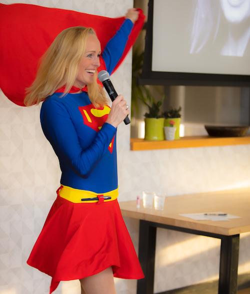 Waarom ziet niemand dat ik een oplichter ben – zelfs niet als ik als superwoman op het podium sta?